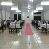 Salão preparado para festa do Oscar da Veterinária