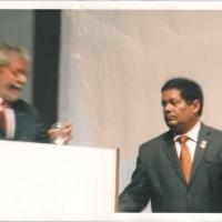 Mais um trabalho junto ao Presidente Lula