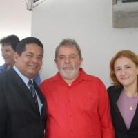 Cerimônia com a presença do Presidente Luís Inácio Lula da Silva