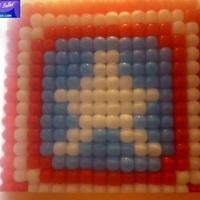 Painel de Balões Capitão América