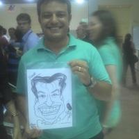Caricaturas em feiras e eventos. WhatsApp: (19) 9 9246-7594 E-mail: nilfellix@ig.com.br