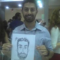 Caricaturas em estandes de eventos WhatsApp: (19) 9 9246-7594 E-mail: nilfellix@ig.com.br