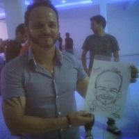 Todo mundo se diverte com as caricaturas ao Vivo! WhatsApp: (19) 9 9246-7594 E-mail: nilfellix@ig.c