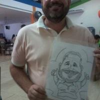Seus convidados vão se divertir com suas caricaturas! WhatsApp: (19) 9 9246-7594 E-mail: nilfellix@