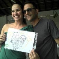 O casal apaixonado também se diverte com sua caricatura! WhatsApp: (19) 9 9246-7594 E-mail: nilfell