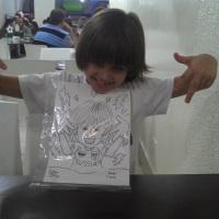 A criançada se diverte com as caricaturas ao vivo de Nilson Féllix! WhatsApp: (19) 9 9246-7594 E-ma