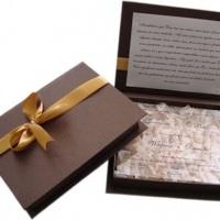 Convite Box Black Gold