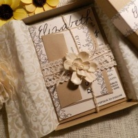 Convite Box Simplesmente Clássico