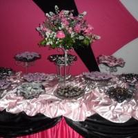 decoração pink com preto