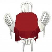 Locação de mesas e cadeiras, cadeiras avulsas com braço e sem braço.