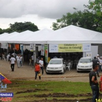 Tenda Piramidal 10x10 Ação Global