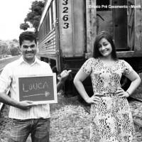 Ensaio Fotográfico na Linha do Trem