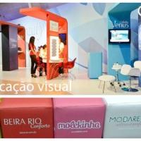 Comunicação Visual para eventos como congressos, convenções, seminários e demais eventos corporativo