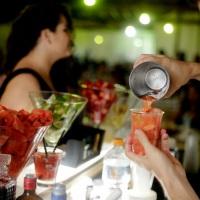 Drink preparado com delicadeza a gosto de cada convidado.