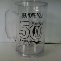 CANECA ACRÍLICO 50,60...ANOS