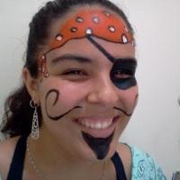 Pintura facial - Pirata