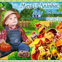 LEMBRANCINHA COM IMÃ 10X7,5