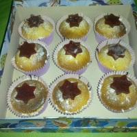 Cupcake de Fubá com Goiaba