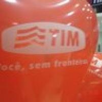 Balão personalizado com gás hélio.