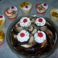 Tortas e mousses