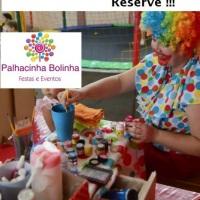 Serviços de Pintura facial, escultura de balões, penteado maluco e esmalteria das Princesas.  Deix