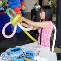 escultura com balões