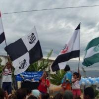 festival de bandeiras e hinos dos times