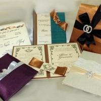 Convites série luxo, para eventos inesquecíveis.