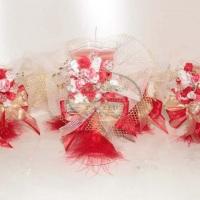 Velas e decorações de mesa personalizado de acordo com seu evento