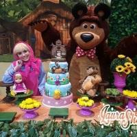 Masha e o Urso personagens