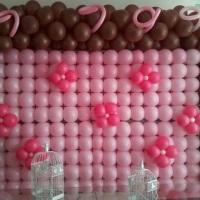 Decoração e trabalhos em balão