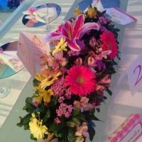 Jardineira de flores.