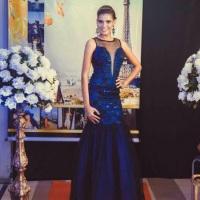 vestido coleção Particia Santos Paris