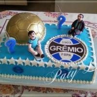 Bolo personalizado - Grêmio