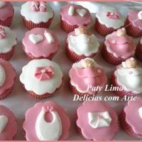 Cupcakes para Chá de Fraldas -