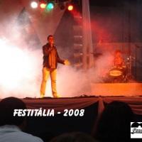 Show na Festitália 2008 em Blumenau