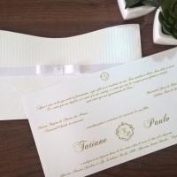 Convite Canoa Conviteria Pedacinho de Festa