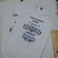Camisas, camisetas, batas, baby looks personalizadas