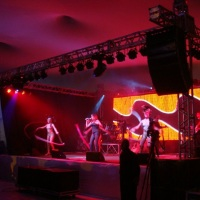 Formatura, palco, som, luz e led by perfil audio.