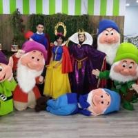 Branca de Neve e o Sete Anões  Personagem vivos