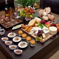Confraternização de queijos e vinhos