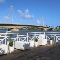Excelente localização e com vista para a ponte da Reserva do Paiva