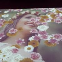 15 anos. efeito blow. com flores perfeito para a valsa. Sua festa mais personalizada do que nunca!