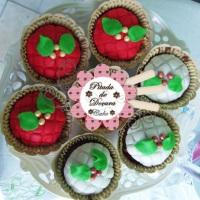 Cupcakes Natal