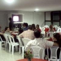 Convidados comem á vontade durante 04 horas