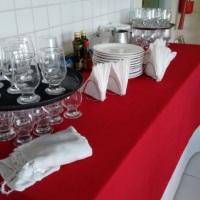 lavamos pratos, talheres e taças...