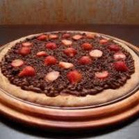 Pizza Sensação - Chocolate com Morango