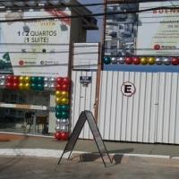 stand decorado com plasbol
