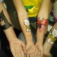 tatuagens infantins