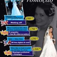 Pacote/Orçamento para Casamento. Promoção válida para contratos fechados até 30 de junho.